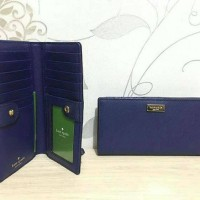 Dompet Kate Spade Ks Stacy Indigo Wallet Original