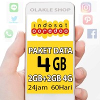 harga Perdana Internet / Paket Data Indosat 4gb Tokopedia.com