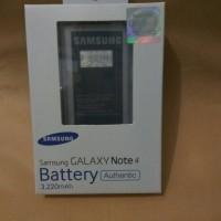 Jual Baterai Battery Samsung Galaxy Note 4 Original 100% Murah