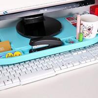 5099 Desktop storage Meja laptop / rak komputer plastik