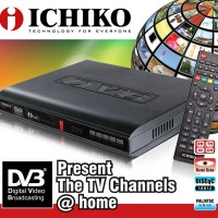 Ichiko DVB-8000 HD Set Top Box - Alat Penerima Siaran TV Digital HDMI
