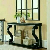 meja consul cermin hias(meja tv,meja rias,dipan,lemari,bufet tv,kursi)