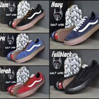 Sepatu Sneaker Pria Vans Oldskool Wolf Gang ICC - Sneakers - Skate