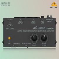 Behringer MA400 (Monitor Headphone Amplifier, In Ear, Compact)
