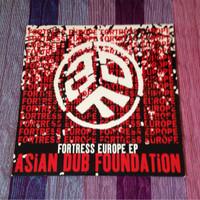 Jual Piringan Hitam Asian Dub Foundation - Fortress Europe Limited Edition Murah
