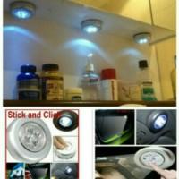 Lampu mini Stick n Click / Stick Touch Lamp / Lampu Tempel Emergency I