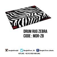 Meinl Drum Rug Zebra