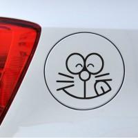Stiker Doraemon Tutup Tangki Bensin Solar BBM Cap Fuel Decal Sticker