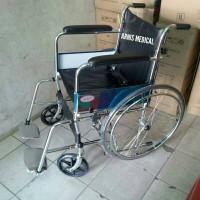 kursi roda murah (LX 888) mudah di lipat/bisa masuk mobil