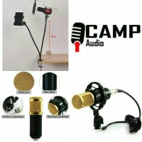 Mic BM 800 + stand + pop filter + Holder hp