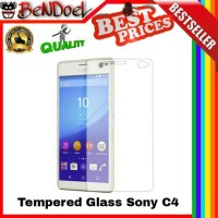 harga Original Tempered Glass Sony Experia Xperia C4 / Dual 2.5d Curved Edge Tokopedia.com
