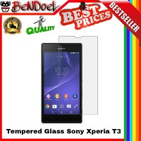 Tempered Glass 9h Sony Experia Xperia T3 / Ultra/dual| Anti Gores Kaca