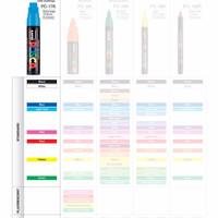 UNI POSCA PC-17K Marker Pen (Extra Broad Chisel Tip)