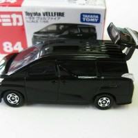 Tomica No 84 Toyota Vellfire Hitam Miniatur Mobil Diecast Takara Tomy