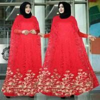 Baju Maxi Kaftan Brukat Wanita AR2761
