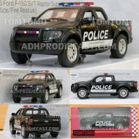 Diecast Ford F-150 Raptor (Polisi Spesial) Miniatur Mobil Mobilan