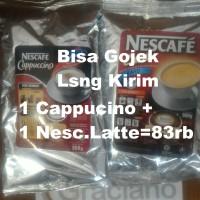 Jual Promo Paket Nescafe Latte + Cappuccino Cappucino Capucino Murah Murah