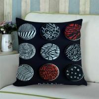 blurryfaces Sarung Bantal Sofa 18 inch gambar 2 sisi