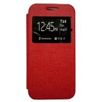 Zagbox Flip Cover Samsung Galaxy Z3 - Merah