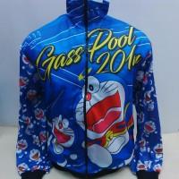 Jaket Balap Drag Bike Doraemon 432