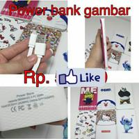 Power Bank Karakter 98000Mah Minion Doraemon Hellokitty Stich Panda