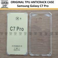 Case TPU Anti Crack Samsung Galaxy C7 Pro Ultra Thin Anti Pecah C 7