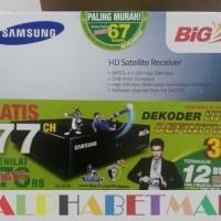 Decoder Samsung HD BIG TV Digital Satelit Receiver Prabayar Promo 1t