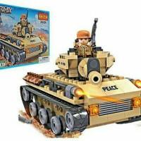 Cogo Army 192 pcs (Mainan blocks bentuk Tank)