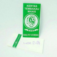 Kertas Papir Paper Rokok Tembakau Manis SINGO Ijo Singa Hijau Tembako