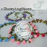 Jual Mahkota Bunga / Flower Crown Murah