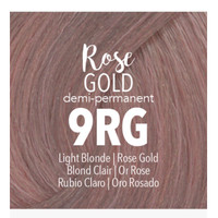 guy tang demi permanent rose gold 9RG my dentity color