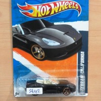 HOT WHEELS FERRARI CALIFORNIA BLACK FASTER THAN EVER 2011 #145/244