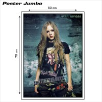 Poster AVRIL LAVIGNE #10: ARMY PANTS - Jumbo size 50 x 70 cm