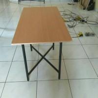 meja lipat ukuran 100x50 / meja cafe / meja makan lipat / meja bazar