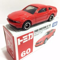 Ford Mustang GT V8 red no 60 Tomica Takara tomy