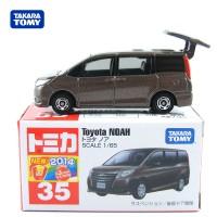 Toyota Noah no 35 brown Tomica Takara tomy