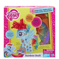 My little pony Rainbow Dash design a pony