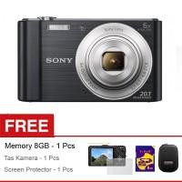 KEREN KAMERA DIGITAL SONY 20 MP, 6X ZOOM, CAMERA FREE MEMORY 8 GB