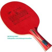 Friendship 729 Red Spirit Kayu Blade Bat Bet Pingpong Tenis Meja