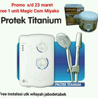 Water Heater Instant Acme 707 Titanium / Pemanas Air Mandi