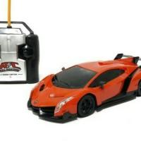 Mainan Anak - Rc Top Speed Mobil Lamborghini Veneno 1:24