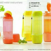 Jual Tupperware Infused 2 Go, Botol Infuse / Infus Water Murah