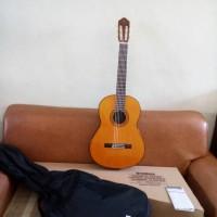 gitar klasik yamaha C80 (ori) senar nylon included softcase original.