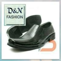 Sepatu Pantofel Pria Kerja Kantor Sekolah Bahan Kulit Sapi Asli FD 03