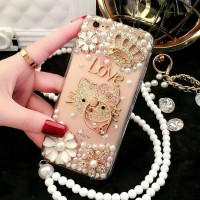 Jual Casing OPPO F1 A35/ F1s A59/ F1 Plus A59 Softcase Hello Kitty Diamond Murah