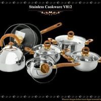 Jual panci vicenza cookware V 812( order khusus gojek) Murah