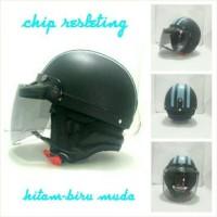 Harga Helm Retro Chip Hitam Travelbon.com