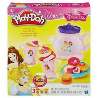 play-doh princess tea party belle ariel playdoh play doh