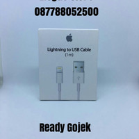 Jual Cable Usb Lightning Iphone 5 5s 6 6s 7 plus + Ipad Ipod Touch Original Murah