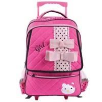 Jual Tas Dorong / Tas Ransel Anak Perempuan Karakter Hello Kitty ALY 905 Murah